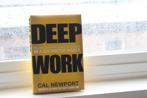 Cover of Deep Work by Cal Newport, Grand Central Publishing